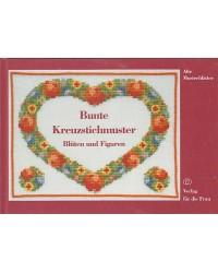 Bunte Kreuzstichmuster -...
