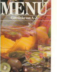 Menü - Getränke von A-Z